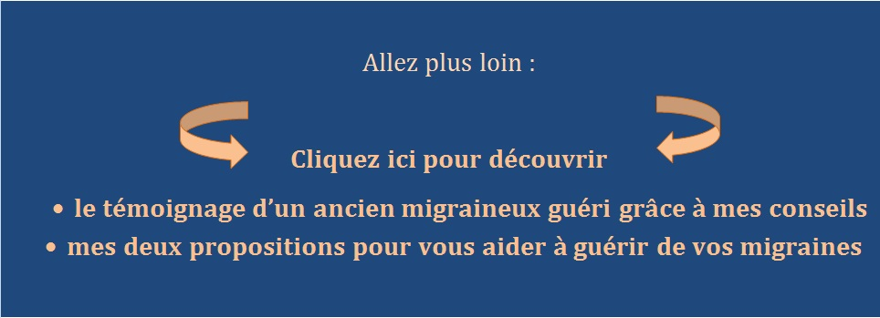 appel à l'action migraines
