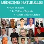 1er sommet des médecines naturelles en ligne